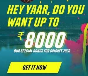 Parimatch-India-Welcome-Bonus